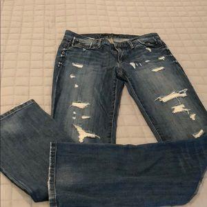 """Joe's jeans """"the rocker socialite fit 28"""